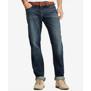 Lucky Brand Mens Athletic Fit 410 Dark Wash